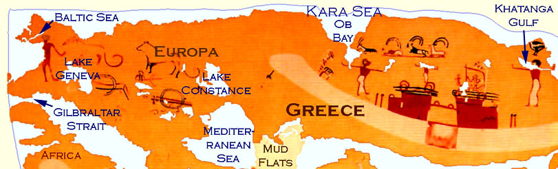 Tribes of the earth world map ancient greece map gumiabroncs Images